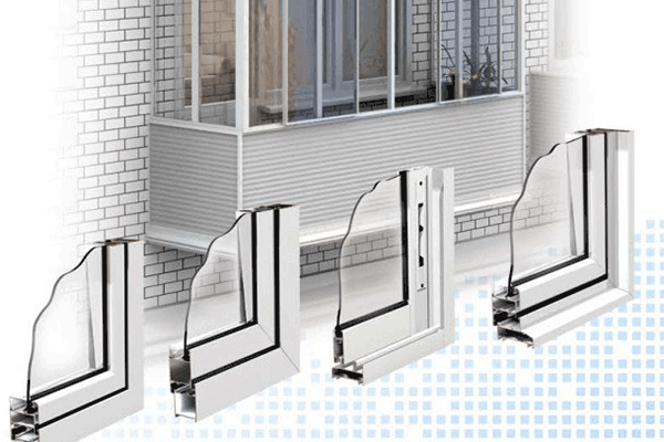 Алюминиевое остекление балконов от компании производителя - .