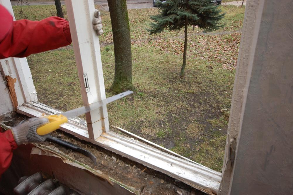 Демонтаж пластиковых окон. как демонтировать старое окно..