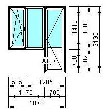 Пластиковые окна недорого для дома копэ по акции в москве!.